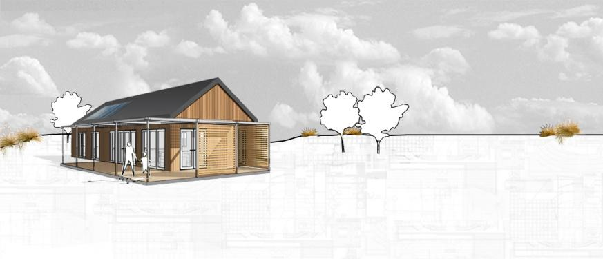 One Pavilion With Gable Roof Salmond Architecture